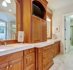 12000 Malloy Photos, Hi-res Malloy Master Bath cabinetry