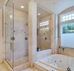 12000 Malloy Photos, Hi-res Malloy Master bath shower and tub