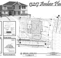 13217 Amber Place Site plan Cover copy