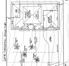13581 Rogers Road, site plan