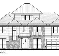 14 - 13581 Rogers Road, Front elevation sketch copy 2